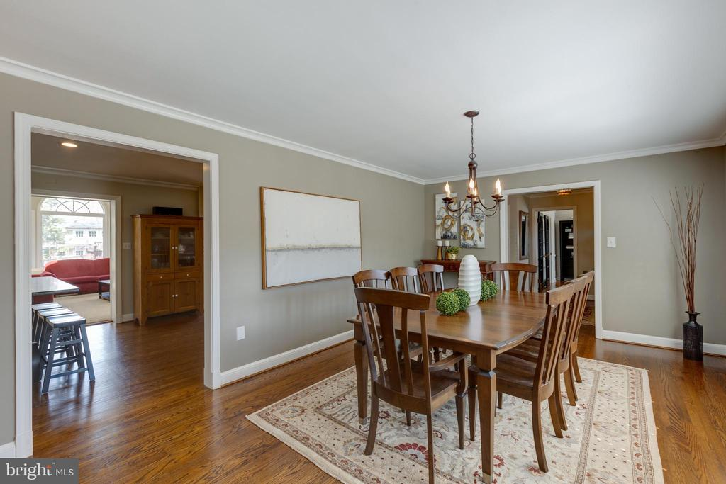 Another view of the dining room - 4635 35TH ST N, ARLINGTON