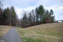 Paved driveway leading to the house - 1318 LOCUST GROVE CHURCH RD, ORANGE