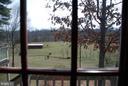 Rear view from kitchen window - 1318 LOCUST GROVE CHURCH RD, ORANGE