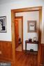 Doorway into office, half bath, and sewing/craft r - 1318 LOCUST GROVE CHURCH RD, ORANGE