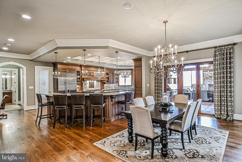 Fantastic Breakfast Room and Gourmet Kitchen - 2555 VALE RIDGE CT, OAKTON