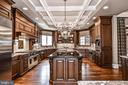 Gourmet Kitchen is a Chef's Delight! - 2555 VALE RIDGE CT, OAKTON