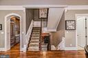 Stairs from Kitchen area to upper Bedrooms - 2555 VALE RIDGE CT, OAKTON