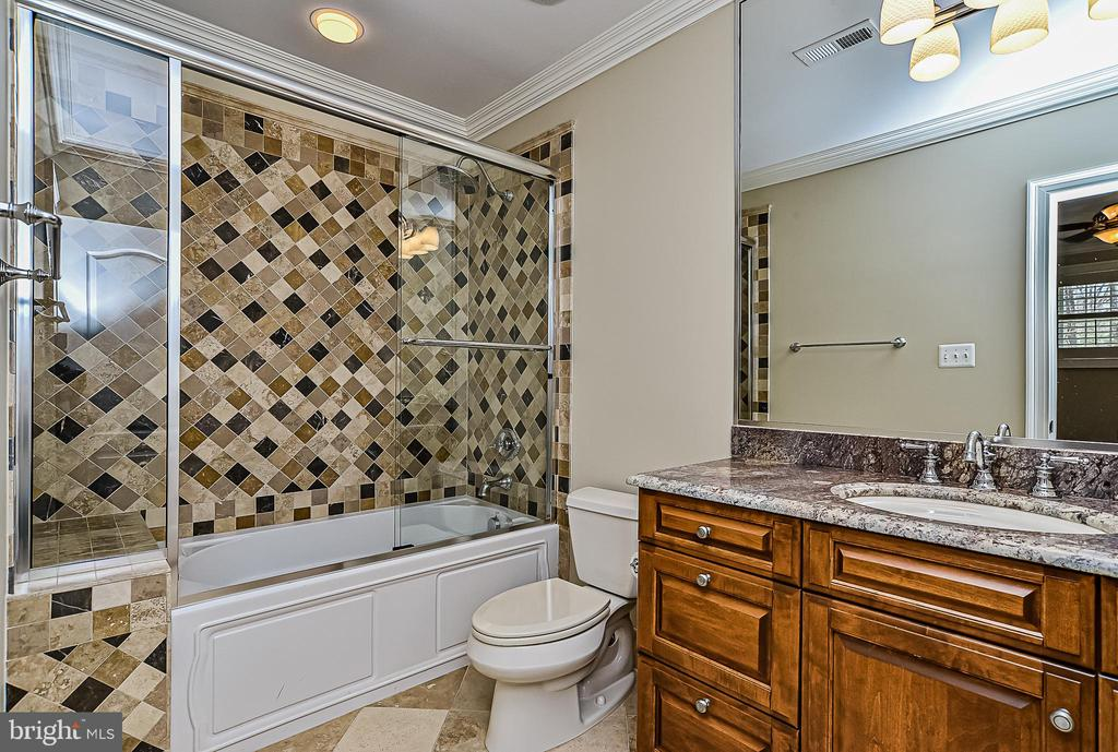 Private Full Bath for LL Guest/In-Law Suite - 2555 VALE RIDGE CT, OAKTON