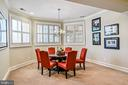 Game Table/ Dining Space in Rec Room - 2555 VALE RIDGE CT, OAKTON