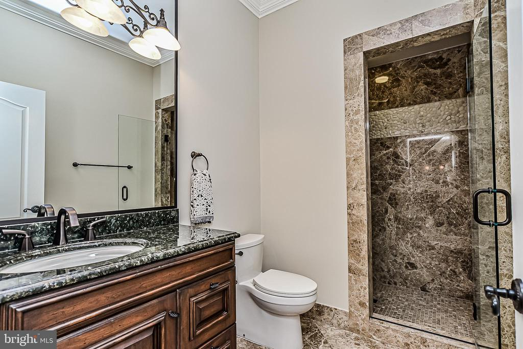 Lower Level 7th Full Bath off Rec Room - 2555 VALE RIDGE CT, OAKTON