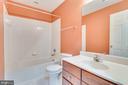 Upstairs Guest Bathroom - 509 RUBENS CIR, MARTINSBURG