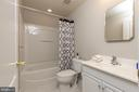 Full Bathroom in Lower Level - 42571 PELICAN DR, CHANTILLY