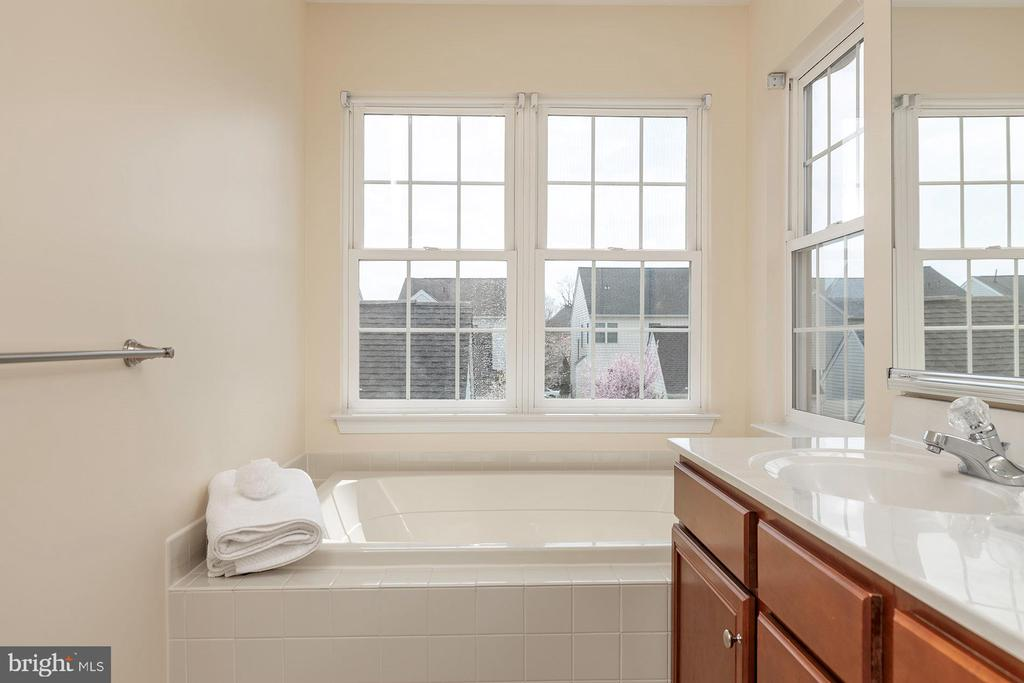 Master Bath with Soaking Tub - 42571 PELICAN DR, CHANTILLY
