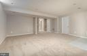 Lower Level, Movie Room? Play Area? - 42571 PELICAN DR, CHANTILLY