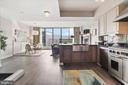 Kitchen views - 1117 10TH ST NW #W10, WASHINGTON