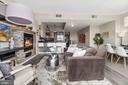 Living room - 1117 10TH ST NW #W10, WASHINGTON