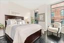 Corner bedroom - 1117 10TH ST NW #W10, WASHINGTON