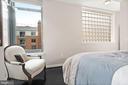 Bedroom looking east - 1117 10TH ST NW #W10, WASHINGTON