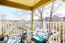 Private Balcony - 629 ADMIRAL DR #H8-305, ANNAPOLIS