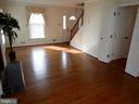 Living room view, door to right leads to kitchen - 1510 BOYCE AVE, TOWSON