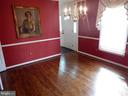 Dining room, opening on right leads to living room - 1510 BOYCE AVE, TOWSON