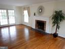 Living Room, french doors lead to front porch - 1510 BOYCE AVE, TOWSON
