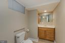 Lower level half bathroom - 4635 35TH ST N, ARLINGTON