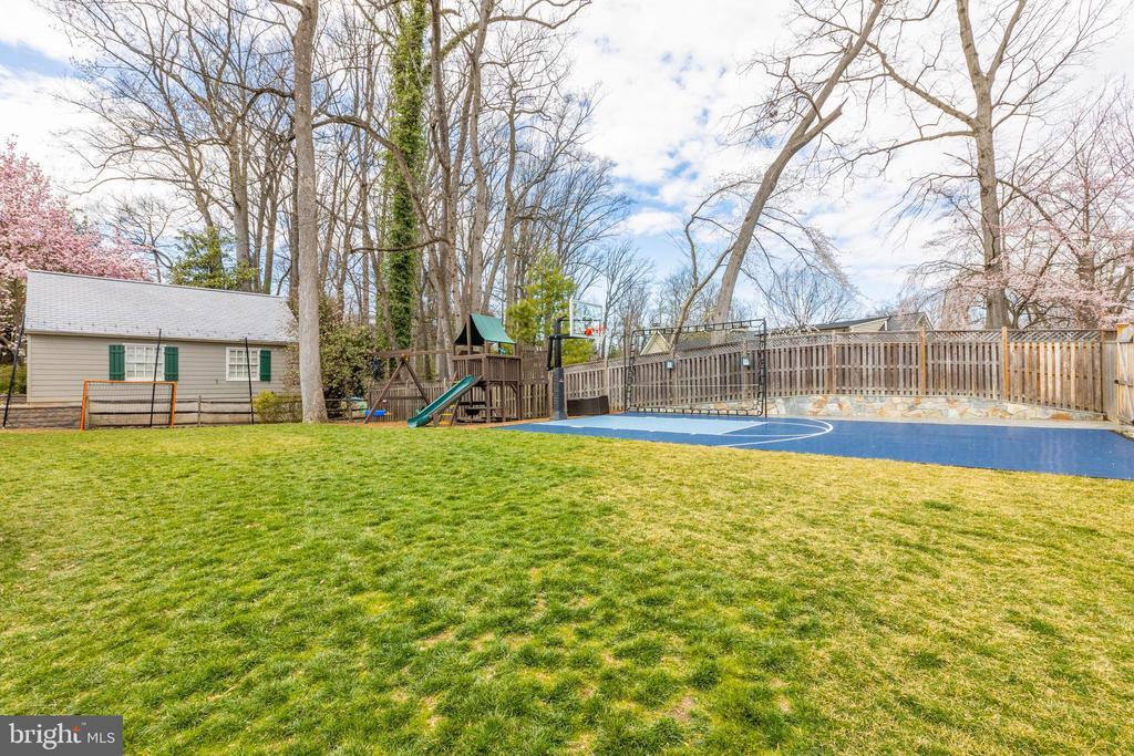 Back yard - 4635 35TH ST N, ARLINGTON