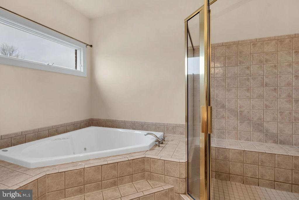 Jetted Soaking Tub & Separate Shower - 39032 FRY FARM RD, LOVETTSVILLE