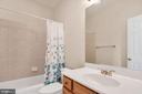 Full Bath With Tiled Tub - 39032 FRY FARM RD, LOVETTSVILLE