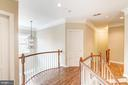 Large Upper Landing with newly Stained Bannisters - 18777 UPPER MEADOW DR, LEESBURG