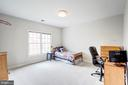 Bedroom #4 with Fresh Paint and New Carpet - 18777 UPPER MEADOW DR, LEESBURG