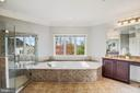 Large Master Bathroom - 18777 UPPER MEADOW DR, LEESBURG