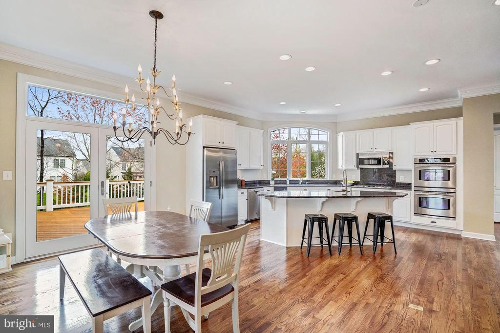 Kitchen Open to Family Room - 18777 UPPER MEADOW DR, LEESBURG