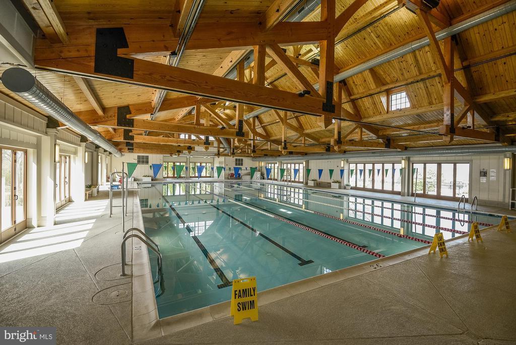 Lansdowne on the Potomac HOA Indoor Pool - 18777 UPPER MEADOW DR, LEESBURG