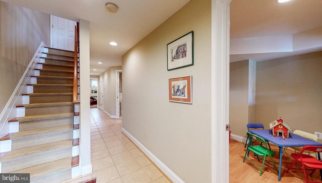 Lower level, fully finished.  Bonus room - 124 S PATTERSON PARK AVE, BALTIMORE