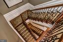 2nd Stairway to Kit and LL (or take the elevator!) - 2555 VALE RIDGE CT, OAKTON