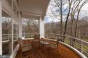 Balcony off Great Room - 1371 KIRBY RD, MCLEAN