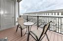 Private Patio Space - 23631 HAVELOCK WALK TER #415, BRAMBLETON