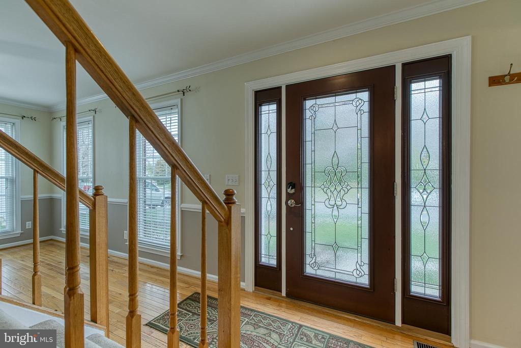 New front entry door and windows - 102 NORTHAMPTON BLVD, STAFFORD