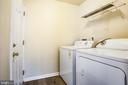 Laundry room main floor - 11617 DUCHESS DR, FREDERICKSBURG