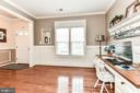 Custom wood trim, including the windows! - 25974 KIMBERLY ROSE DR, CHANTILLY