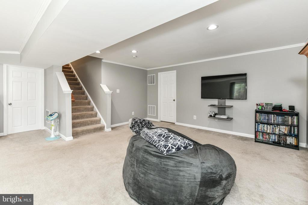 Huge basement with 2 additional storage spaces! - 25974 KIMBERLY ROSE DR, CHANTILLY