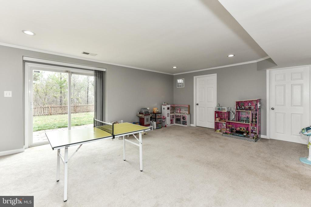 Walk-Out to large, flat yard that backs to trees! - 25974 KIMBERLY ROSE DR, CHANTILLY