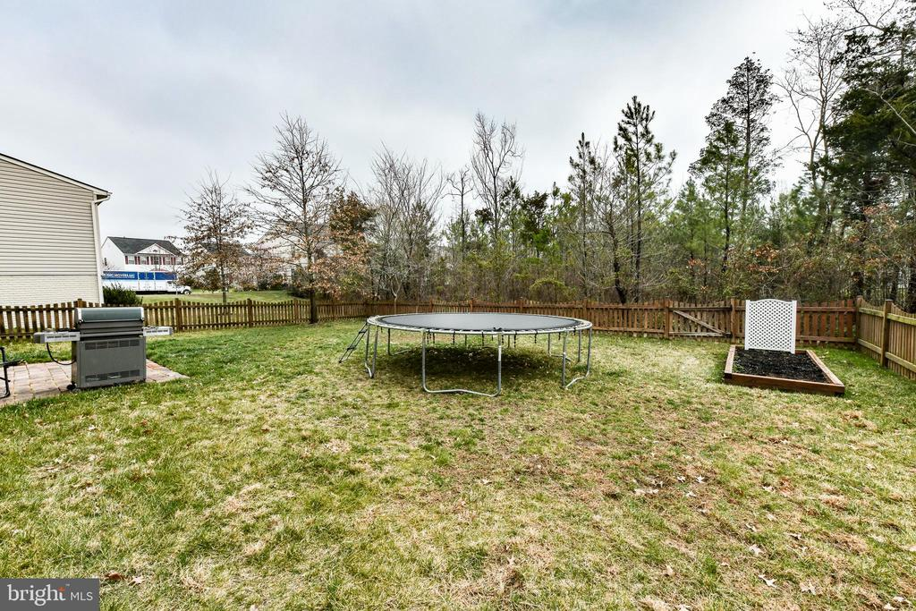 Huge backyard backing to trees! - 25974 KIMBERLY ROSE DR, CHANTILLY