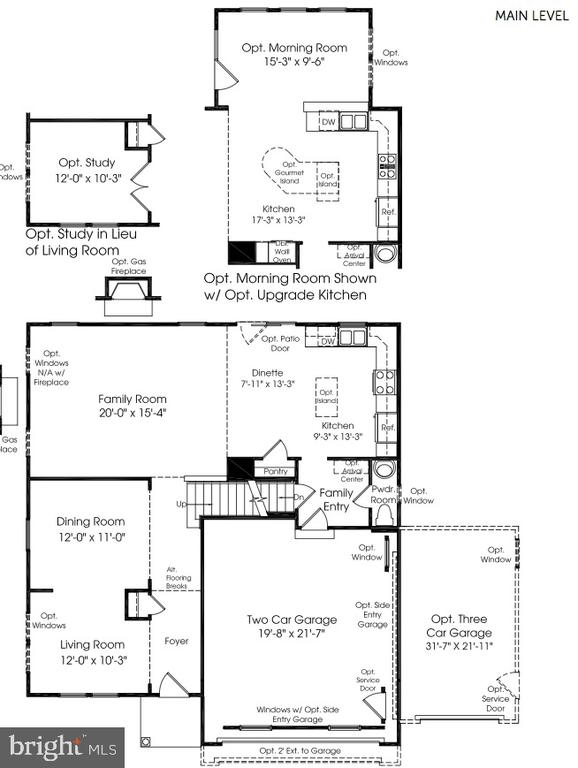 Sellers added opt. bedroom and owner's bathroom - 25974 KIMBERLY ROSE DR, CHANTILLY