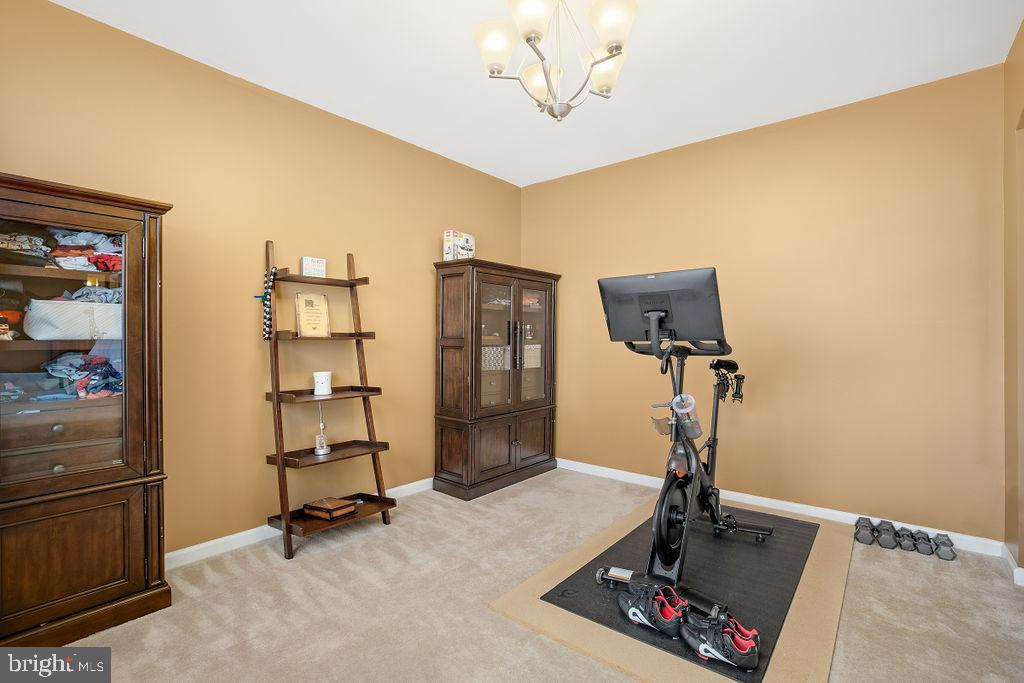 Sitting room or Exercise Space - 31 LIBERTY KNOLLS DR, STAFFORD