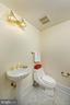 A quaint half bath off the recreation room - 19 WILKES ST, ALEXANDRIA