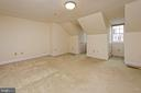 A substantial guest bedroom on the upper level - 19 WILKES ST, ALEXANDRIA