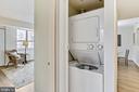 Washer / Dryer in Condo - 4808 MOORLAND LN #503, BETHESDA