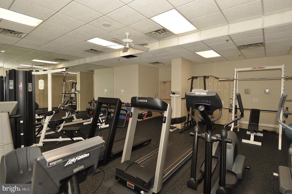 Building Fitness Room - 4808 MOORLAND LN #503, BETHESDA