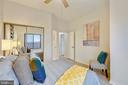 Second Bedroom Sunsplashed with High Ceilings - 2111 WISCONSIN AVE NW #PH7, WASHINGTON
