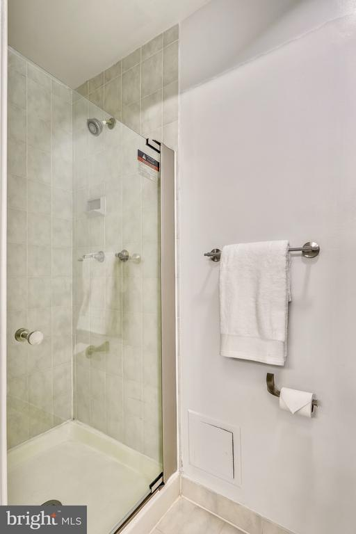 Separate Shower in Master Bath - 2111 WISCONSIN AVE NW #PH7, WASHINGTON