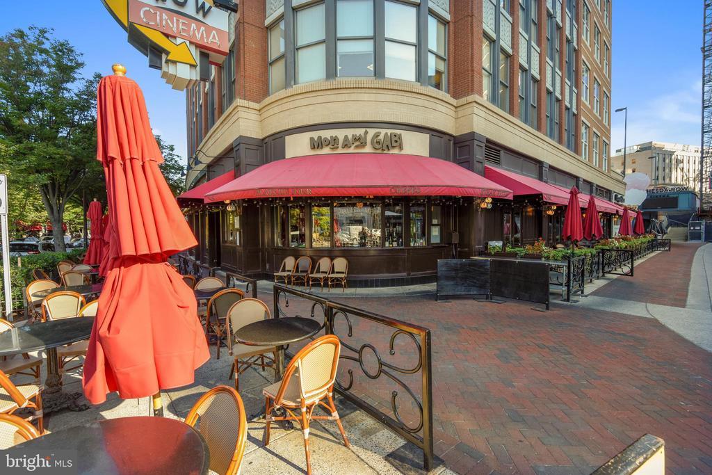 Near Bethesda Restaurants - 4808 MOORLAND LN #503, BETHESDA